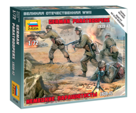 Zvezda 6136 German Paratroopers 1939-42