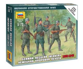 Zvezda 6178 German Regular Infantry 1939-1943