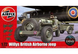Airfix A02339 British Airborne Willys Jeep