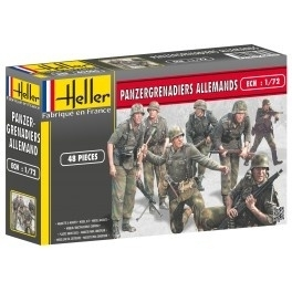 Heller 49606 Panzergrenadiers Allemands