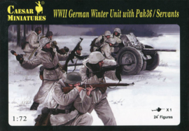 Caesar H097 WWII German Winter Unit with Pak36