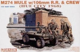 Dragon  3315 M274 MULE w/106mm R.R. & CREW