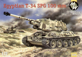MW 7239 Egyptian T-34 SPG 100 mm