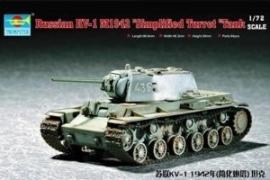 Trumpeter 7234 Russian KV-1 M1942