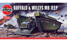 Airfix A02302V Buffalo & Willys MB Jeep