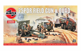 Airfix A01305V 25pdr Field Gun & Quad