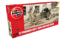 Airfix A06361 17 Pounder Anti-Tank Gun and Crew