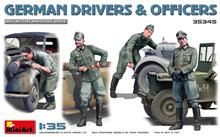 Mini Art 35345 German Drivers & Officers