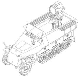 """CMK 2014 Sd. Kfz. 251/20 Ausf.D """"Uhu"""""""