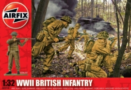 Airfix A02718 WWII British Infantry