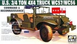 AFV Club 35S16 US ¾ ton 4X4 Truck WC57/WC56