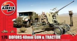 Airfix A02314 Bofors 40 mm Gun & Tractor