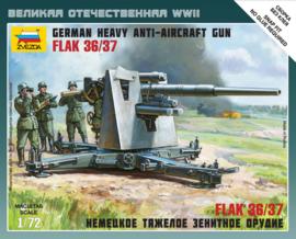 Zvezda 6158 FLAK 36/37 German Heavy Anti-Aircraft Gun