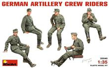Mini Art 35040 German Artillery Crew Riders