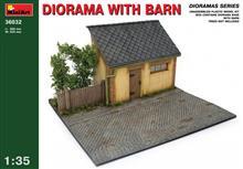 Mini Art 36032 Diorama with Barn