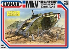 EMHAR  4005 Mk V WW I Tank