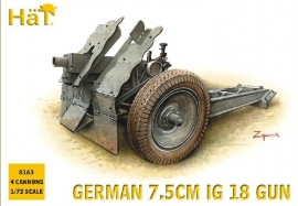 Hat 8163 German 7,5cm IG 18 Gun
