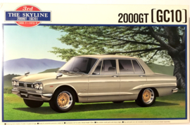 Aoshima 18507 Nissan Skyline 2000GT (GC10)