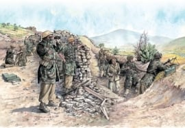 Italeri 6134 German Paratroopers (Tropical Uniform)