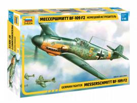 Zvezda 4802 Messerschmitt Bf-109 F2