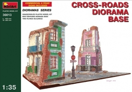 Mini Art 36013 Cross-roads diorama base
