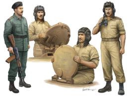 Trumpeter 439 Iraqi Tank Crew