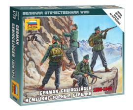 Zvezda 6154 German Gebirgsjäger 1939-1943