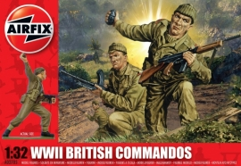 Airfix A02705 WWII British Commandos