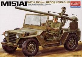Academy 13003 M151A1 With 105 mm Recoilless Gun