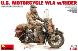 Mini Art 35172 U.S. Motorcycle WLA