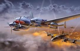 Italeri 1314 Bf 110 G-4