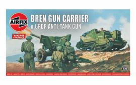 Airfix A01309V Bren Gun Carrier and 6pdr Anti-Tank Gun