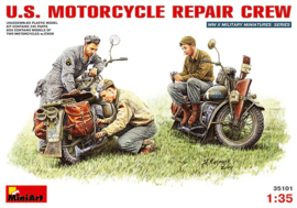 Mini Art 35101 U.S. Motorcycle Repair Crew