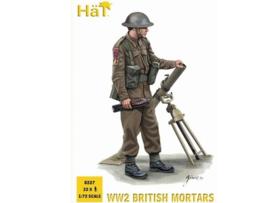 Hat 8227 WWII British Mortars