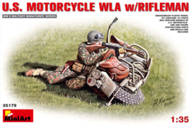 Mini Art 35179 U.S. Motorcycle WLA