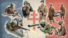 Italeri 6189 Free French Infantry