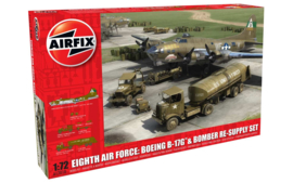 Airfix A12010 BOEING B-17G & BOMBER RE-SUPPLY SET
