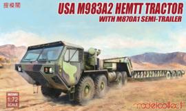 Modelcollect UA72083 USA M983A2 HEMTT Tractor
