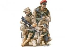 Trumpeter 421 Modern German ISAF Soldiers in Afghanistan