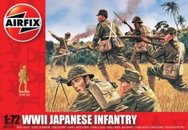Airfix A01718 WWII Japanese Infantry