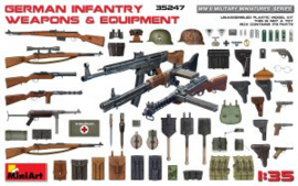 Mini Art 35247 German Infantry Weapons & Equipment