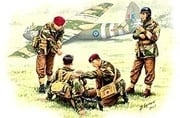 "MB 3534 British Paratroopers,WW II ""Rigid Landing"""