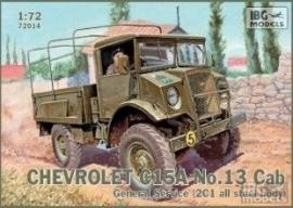IBG 72014 CHEVROLET C15A No.13 Cab