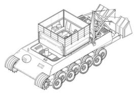 CMK 2012 Bergepanther Ausf.G