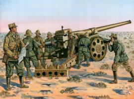 Italeri 6165 Cannone da 149/40 with crew