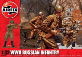 Airfix A02704 WWII Russian Infantry