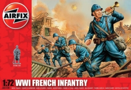 Airfix A01728 WWI French Infantry