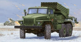 Trumpeter 1013 Russian BM-21 Grad Multiple Rocket Launcher