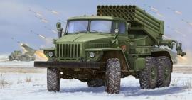 Trumpeter 1013 Russian BM-21 Grad Multiple Rocket Launcher