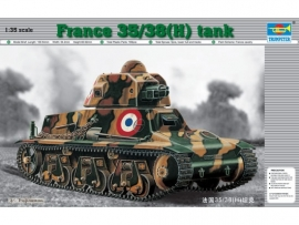 Trumpeter 351 France 35/38(H) tank